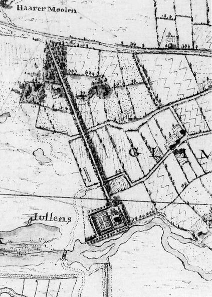 Glimmen Glimmen Hottingerkaart 1792 BUi5