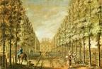 Scheybeeck - aquarel A Staats ca 1744 - HA1