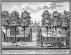 Beeckestein - gravure door H de Leth uit 1729