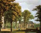 Velserbeek - tuinmanshuis - aquarel H Numan - HA1