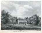 Waterland - litho naar tekening PJ Lutgers ca 1840