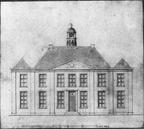 Dalfsen Mataram - bouwtekening nieuwe huis 1798