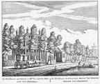 Kerkkroon - ets Abraham Rademaker 1730 - HOL1