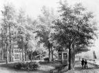 Breukelen Boomoord - tekening door PJ Lutgers uit 1868 - GE4