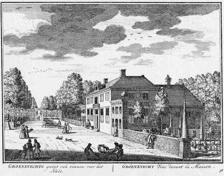 Groenevecht - voorzijde - gravure A Rademaker ca 1791 - DE2