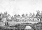 Kweekhoven - gravure van PJ Lutgers ca 1836 - GE2
