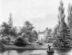 Queekhoven - achterzijde - tekening door PJ Lutgers uit 1866 - GE4