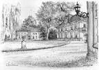 Queekhoven - tekening C.J.Th. Schut - PL1