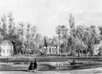 Queekhoven - tekening door PJ Lutgers uit 1866 - GE4