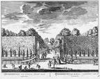 Queekhoven - tuin - gravure A Rademaker ca 1791 - DE2