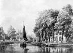Vegt en Hoff - tekening door PJ Lutgers uit 1868 - GE4