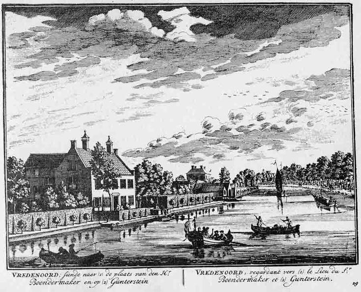 Vredenoord - gravure A Rademaker ca 1791 - DE2
