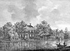 Vreedenoord - Vecht - gravure PJ Lutgers ca 1836 - GE2