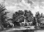 Vreedenoord - voorzijde - tekening door PJ Lutgers uit 1870 - GE4