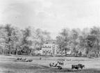 Oostbroek - aquarel door Lutgers 1842 - UT1