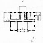 Ewijckshoeve - plattegrond - schaal 1 op 600 door A Viersen en Th J Witt - UT1