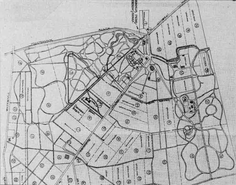 Hendriksoord - situatietekening 1926 - ZEI4