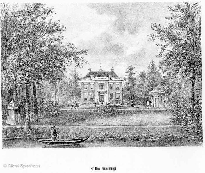 Driebergen Leeuwenburg - litho PJ Lutgers 1869 - GEZ2