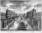 Maarssen Otterspoor - cabinet - gravure A Rademaker ca 1791 - DE2