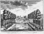 Maarssen Otterspoor - tuin - gravure A Rademaker ca 1791 - DE2