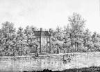 Maarssen Vechtoever - gravure PJ Lutgers ca 1836 - GE2