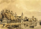Vreeland Vrederust - tekening door PJ Lutgers uit 1856 - GE4-9