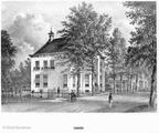 Zeist Lommerlust - litho PJ Lutgers 1869 - GEZ2