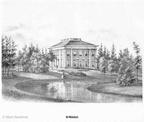 Zeist Molenbosch - litho PJ Lutgers 1869 - GEZ2