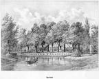 Overvoorde - gravure P.J.Lutgers ca 1856 - GEZ1