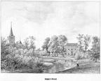 Oostergeest - gravure P.J.Lutgers ca 1856 - GEZ1