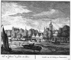 Amsterdam Amstelhoven 2 - links - ets Abraham Rademaker, 1730 - HOL1