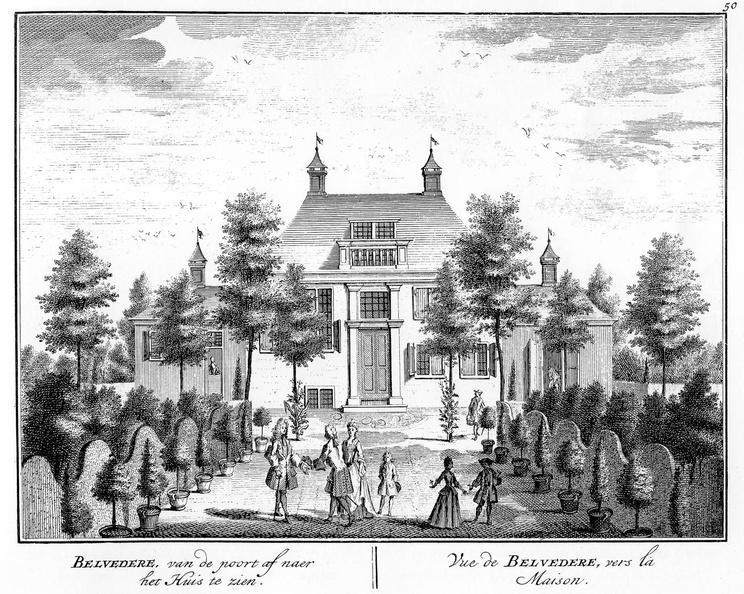 Amsterdam Belvedere - 2 - tekeningen Stoopendaal - HE6