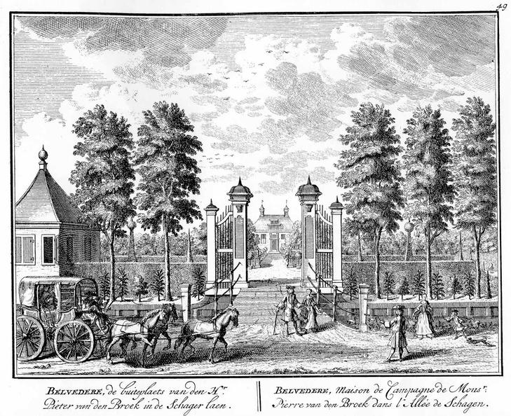 Amsterdam Belvedere - tekeningen Stoopendaal - HE6