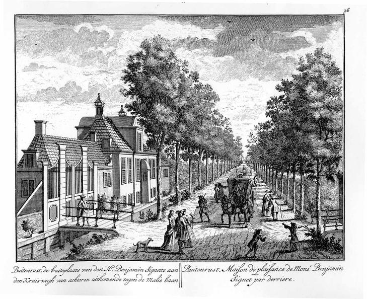 Amsterdam Buitenrust - tekeningen Stoopendaal - HE6