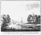 Amsterdam Omval - ets Abraham Rademaker, 1730 - 00 - HOL1