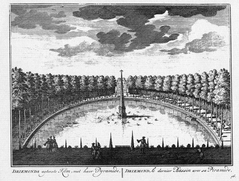 Amsterdam Driemond - pyramide - gravure A Rademaker ca 1791 - DE2