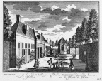 Amsterdam Driemond - stalling - gravure A Rademaker ca 1791 - DE2