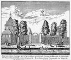 Amsterdam Hogermeer - ets Abraham Rademaker, 1730 - HOL1