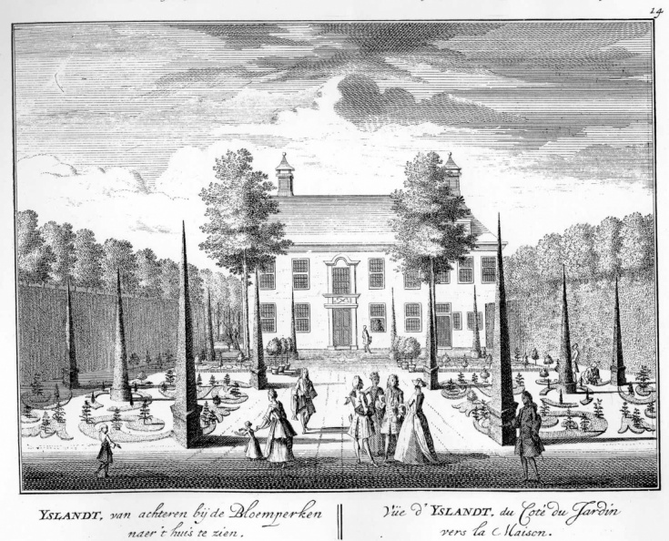 Amsterdam Yslandt - achterzijde - tekeningen Stoopendaal - HE6