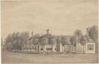 Alkmaar Middenhout - tekening CW Bruinvis naar JA Crescent, 1880 - Beelbank Alkmaar
