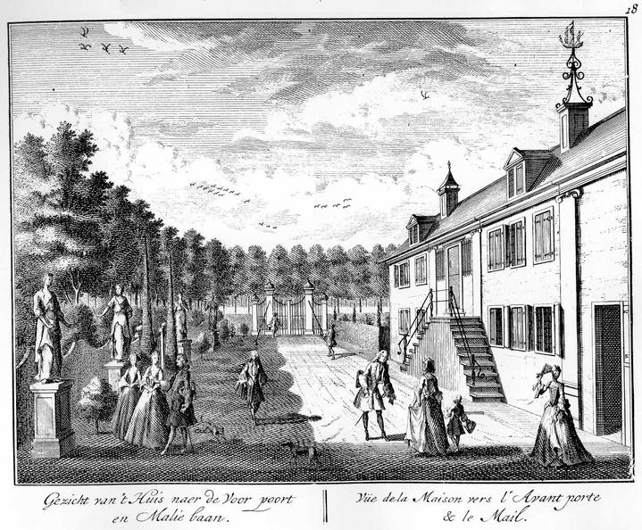 Amsterdam Buitenplaats weduwe Koopman -2 - tekeningen Stoopendaal - HE6