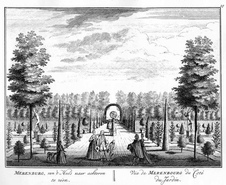 Amsterdam Merenburg - tuin - tekeningen Stoopendaal - HE6