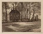 Amsterdam Meerhuizen - ets Henriëtte de Vries, 1913 - Beeldbank Asd