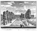 Amsterdam Buitenplaats van Jan Straalmans - vijver - tekeningen Stoopendaal - HE6