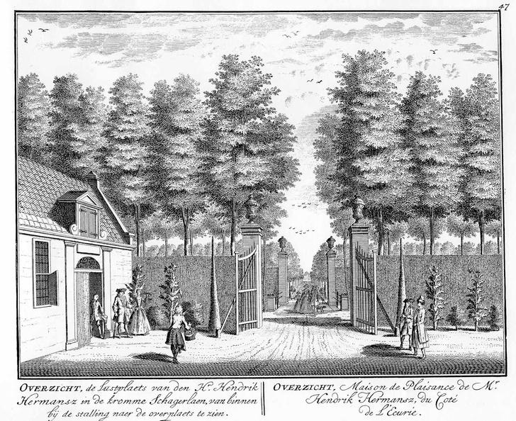 Amsterdam Overzicht - tekeningen Stoopendaal - HE6
