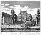 Amsterdam Pingelenburg - ets Abraham Rademaker, 1730 - HOL1
