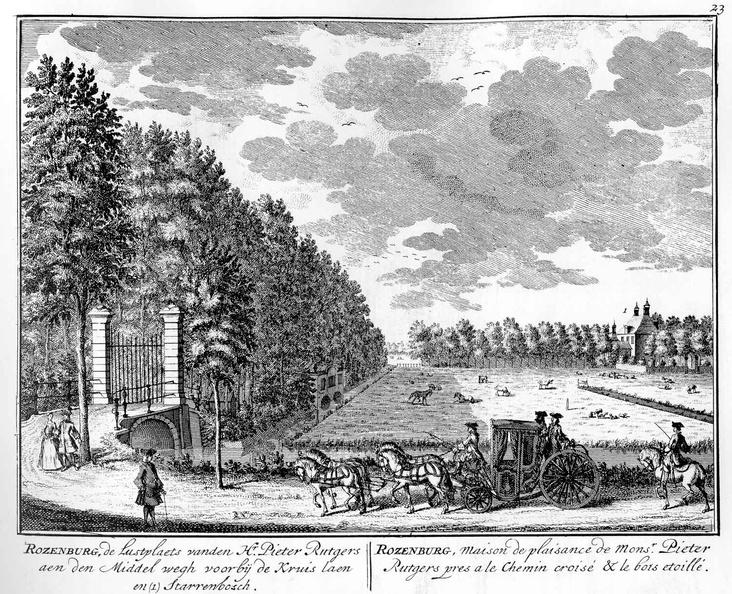 Amsterdam Rozenburg - tekeningen Stoopendaal - HE6
