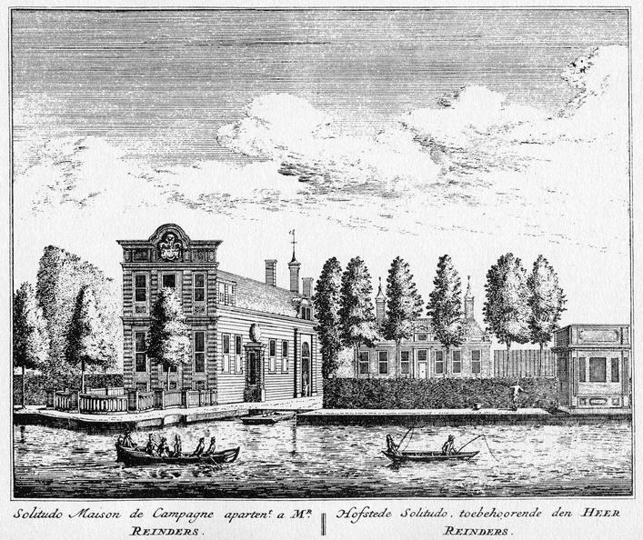 Amsterdam Solitudo - ets Abraham Rademaker, 1730 - HOL1