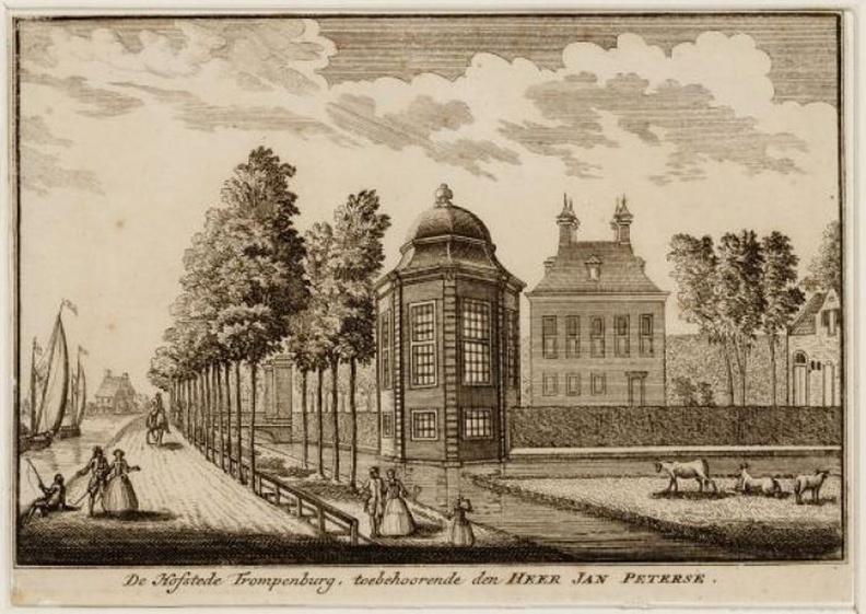 Amsterdam Trompenburg - ets - Beeldbank Asd