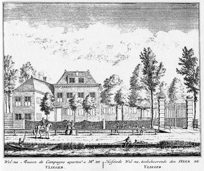 Amsterdam Welna - ets Abraham Rademaker, 1730 - HOL1